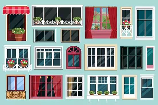 choose the correct type of window for the winter season